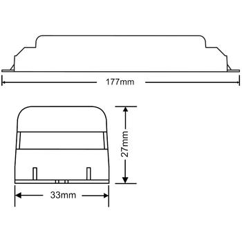 AK-390-3 LED Lambalar Ýçin Acil Durum Yedekleme Kiti Kesintide 180 Dak. Yanan 50-90 Volt