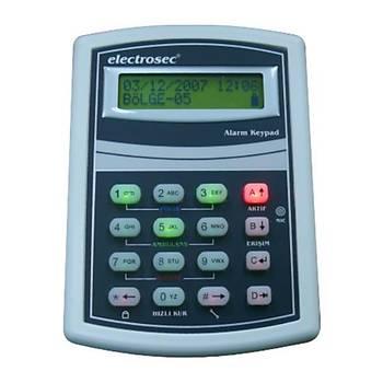 Electrosec DAP-06KP Lcd Ekranlý Alarm Keypad