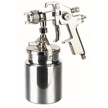 KLPRO AB17S-1.7 1000ml 1.7mm Alttan Alüminyum Depolu Boya Tabancasý