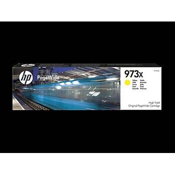 HP F6T83A No 973X Yüksek Kapasýte Sarý Kartuþ 7.000 Sayfa
