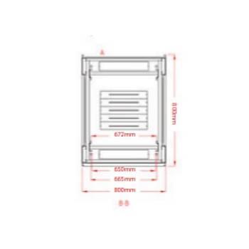 Legend 32u 19 INC Dikili Tip Rack Kabinet 600x1000x1602mm Siyah