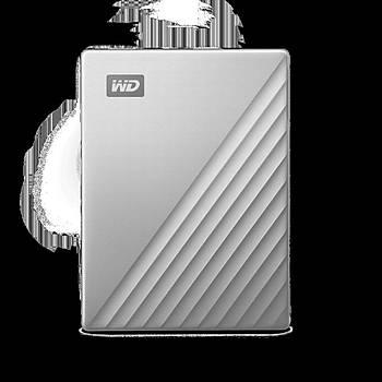 WD WDBPMV0040BSL-WESN MY PASSPORT ULTRA FOR MAC 4TB SILVER WORLDWIDE