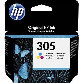 HP 3YM60A No 305 3 Renkli Paket Kartuþ 100 Sayfa