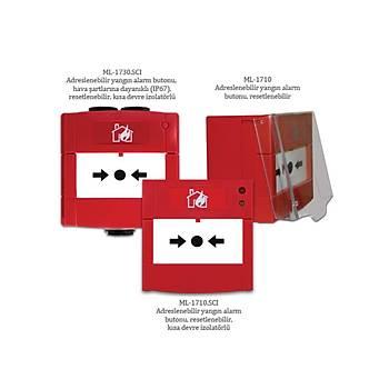 Maxlogic ML-1710 Adreslenebilir yangýn alarm butonu