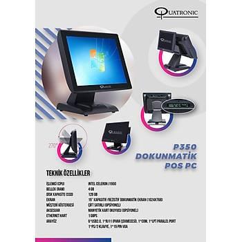 Quatronic P350C J1900 4GB 128 GB SSD 15