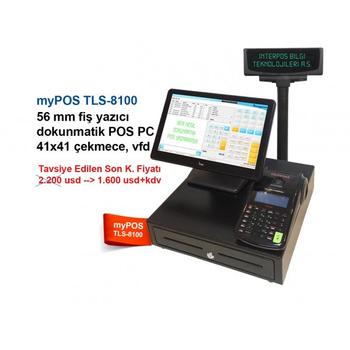 Mypos TLS-8100 Dokunmatik Yazar Kasa