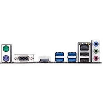 GIGABYTE B450M-H AMD B450M Soket AM4 DDR4 3600MHz HDMI VGA Anakart