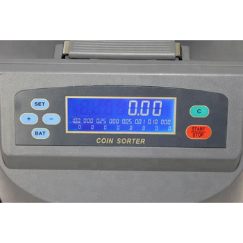 Bill Counter XD-9005 Madeni Bozuk Para Sayma Makinesi