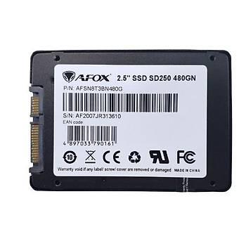AFOX SD250-480GN SSD 480GB 2.5'' 560-480MB/S  SATA3