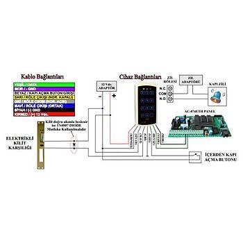 Electrosec AC-1567RF RF Uzaktan Okuyucu