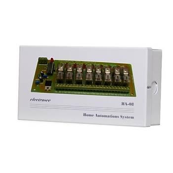 Electrosec DAP-06HA 8 Kanal Otomasyon Sistemi