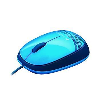 M105,Kablolu,USB Baðlantýlý Optik Mouse,Mavi