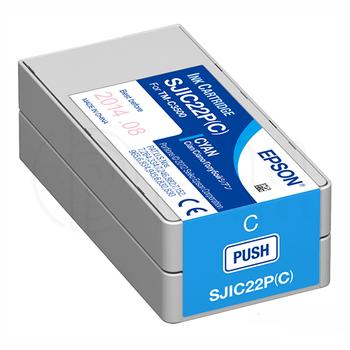 Epson TM-C3500 Kartuþ - Cyan (SJIC22P - C) C33S020602