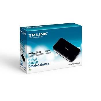 TP-LINK TL-SG1008D 10/100/1000Mbps 8xPort Masaüstü Switch