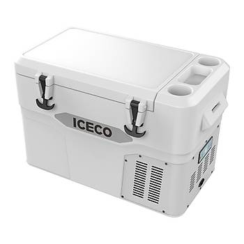 ICECO YD42 12/24Volt 42 Litre 3?ü 1 Arada Outdoor Kompresörlü Oto Buzdolabý
