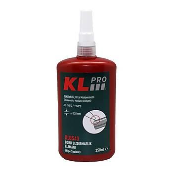 KLPRO KLBS43-250 250ml Boru Sýzdýrmazlýk Elemaný