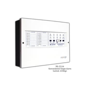 Mavigard ML-22104 Konvansiyonel Yangýn Alarm Santralý, 4 Bölge