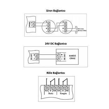 Mavigard ML-22108 8 Bölge Yangýn Alarm Santrali Konvansiyonel 8 Bölge Yangýn Alarm Santrali