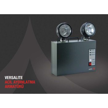 Versalite IP-65 VSP-2201 Acil Aydýnlatma Armatürü Kesintide 60 Dak. 2x20 Watt