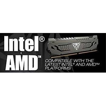 PATRIOT PVS416G300C6K 16GB (8GBx2) 3000MHz DDR4 DUAL VIPER STEEL BLACK Gaming Masaüstü Ram