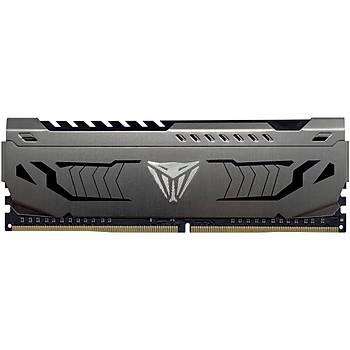 PATRIOT PVS416G360C8 16GB 3600MHz DDR4 SINGLE VIPER STEEL BLACK Gaming Masaüstü Ram