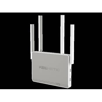 KEENETIC KN-1010-01TR Giga AC1300 5GPort Sfp Mesh Router AP