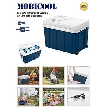 Mobicool MQ40W 12/220Volt AC/DC 39 Litre Oto Buzdolabý