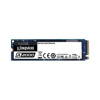 KINGSTON SA2000M8-500G A2000 500GB 22x80mm PCIe 3.0 x4 M.2 NVMe SSD