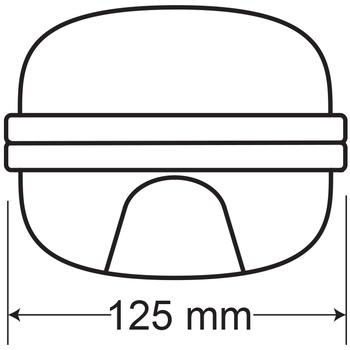 Rubelite AE-0211 Acil Aydýnlatma Armatürü Sürekli ve Kesintisinde 60 Dak. Yanan 11 Watt