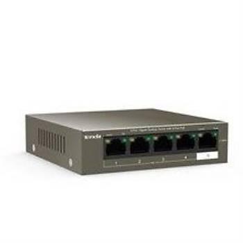 TENDA TEG1105P TEG1105P-4-63W 5 Port Gigabit Masaüstü Switch 4 Port PoE