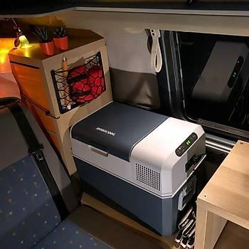 Mobicool MCF60 12/24/220Volt AC/DC 58 Litre Kompresörlü Oto Buzdolabý