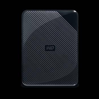 WD WDBM1M0040BBK-WESN Gaming Drive For PlayStation 1SU (15MM) 4TB BLACK WORLDWIDE