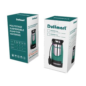 Duffmart DM42202 Duffmart MQ1200 INOX Kademeli Temiz Su Dalgýç Pompa