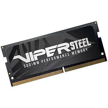 PATRIOT PVS432G266C8S 32GB (32GBx1) 2666MHz DDR4 SINGLE VIPER STEELS BLACK Gaming Notebook Ram