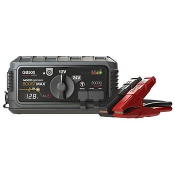 NOCO Genius GB500 12V/24V 20.000Amp Ultrasafe Lityum Akü Takviye + Powerbank + Led Lamba