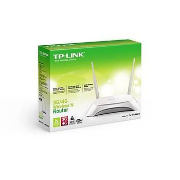 TP-LINK TL-MR3420 300Mbps 3dBi Deðiþtirilebilir Antenli 3G Router