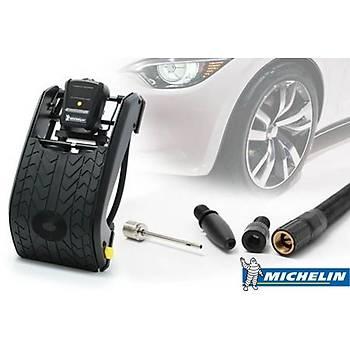 Michelin MC12209 Dijital Basýnç Göstergeli Çift Pistonlu Ayak Pompasý