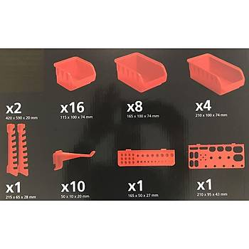 Black&Decker BDST73832-8 43 Parça Panel Seti