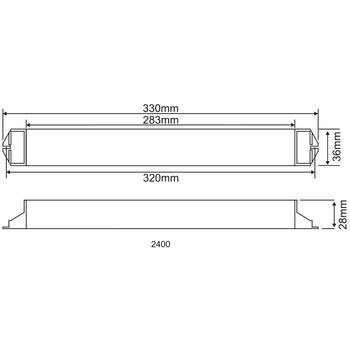 AK-2400 LED Lambalar Ýçin Acil Aydýnlatma Kiti Kesintide Yanan 220 volt <25w lamba