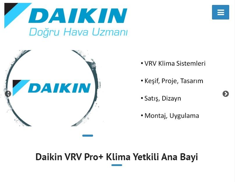 Daikin VRV Klima Sistemleri