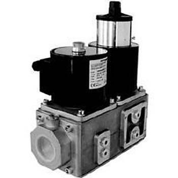 ELEKTROGAS VMM805AF00 DN80 debi: 220 m3/h Ýkili ventil Gaz Ventili Alüminyum Gövde Diþli