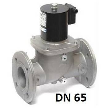 ELEKTROGAS VMR7-3 DN 65 debi: 250 m3/h Gaz Ventili Alüminyum Gövde Flanþlý