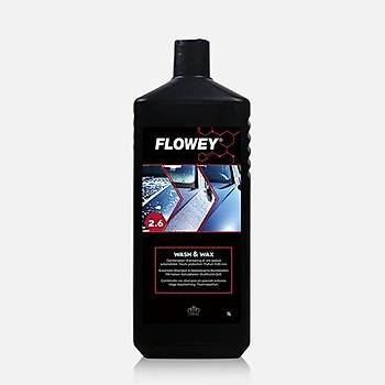 Flowey 2.6 Koruyucu Cilalý Þampuan Wash&Wax 1L