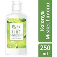 Pure Line Misket Limonu 80 ° Kolonya 250 ML