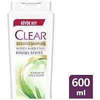 Clear Bitkisel Sentez Þampuan 600 ml