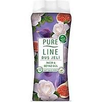 Pure Line Ýncir ve Beyaz Gül Duþ Jeli 400 Ml