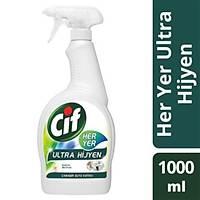 Cif Sprey Her Yer Ultra Hijyen Çamaþýr Suyu Katkýlý 1000 ml