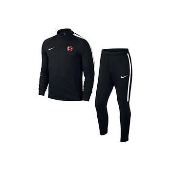 Nike Sqd17 Milli Takým Baskýlý Eþofman 832325 Siyah