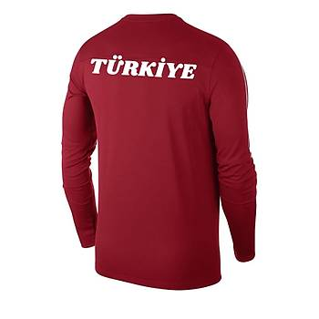 Nike Park18 Milli Takým Baskýlý Sweatshirt AA2088 Kýrmýzý