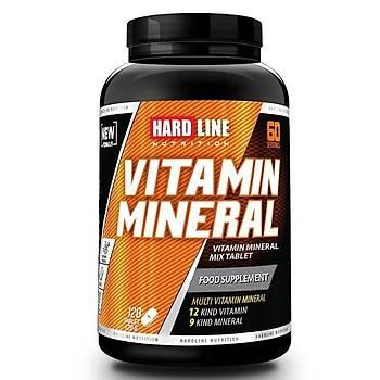 Hardline Vitamin Mineral 120 Tablets